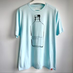 Kings county distillery baby blue graphic t
